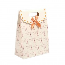 Paper Bag With Handles Wedding Birthday Christmas Gift Coloured print Tower