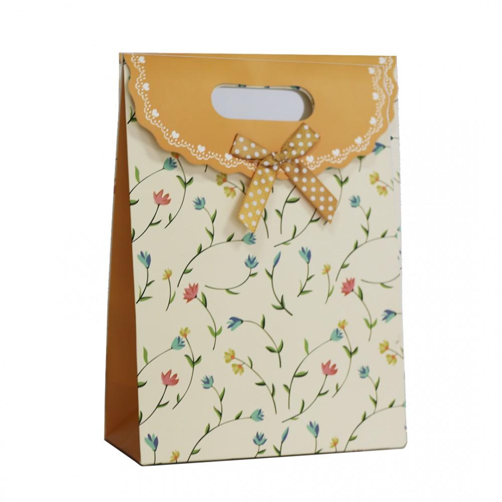 Sac en papier avec poign es anniversaire de mariage cadeau de no l - Sac cadeau noel ...