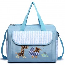 08348 - Maternity Changing Bag Animal Friends Blue