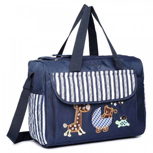 08348 - Maternity Changing Bag Animal Friends Navy