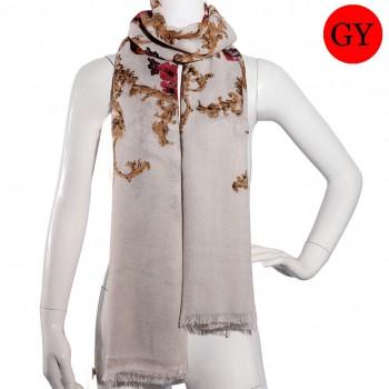 S6416-ladies new peony flower shawl scarf