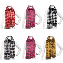 S6418-ladies new stylish birds printed shawl scarf