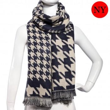S6418-ladies new stylish birds printed shawl scarf