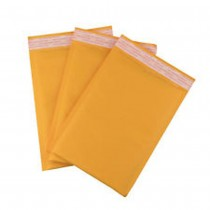 Padded Mailing Envelope Jiffy Bags - 115 x 195 mm - Yellow (x300)