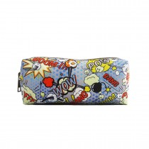 PC - Miss Lulu Canvas Pencil Case Pow
