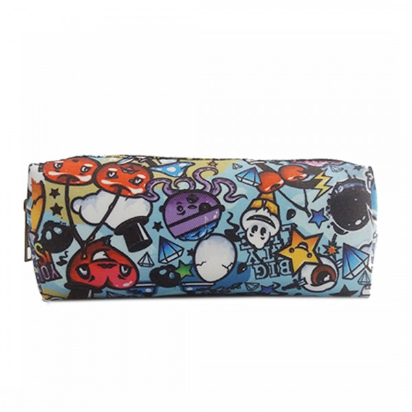 PC - Miss Lulu Canvas Pencil Case Cartoon Graffiti