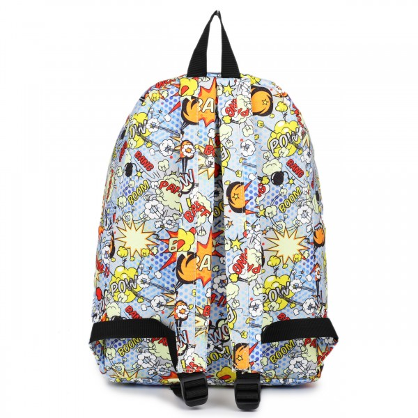 E1401 POW - Miss Lulu Large Backpack Cartoon Pow