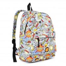 E1401 POW - Miss Lulu Large Backpack Cartoon Pow