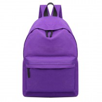 E1401 - Miss Lulu Large Unisex Backpack Purple