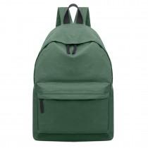 E1401 - Miss Lulu Large Unisex Backpack Green