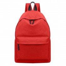 E1401 - Miss Lulu Large Unisex Backpack Red