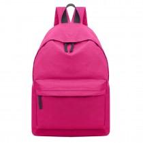 E1401 - Miss Lulu Large Unisex Backpack Plum