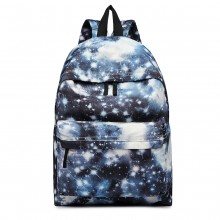 E1401U - Miss Lulu Large Backpack Universe Black