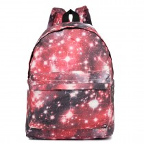 E1401U --Miss Lulu Large Backpack Universe Red