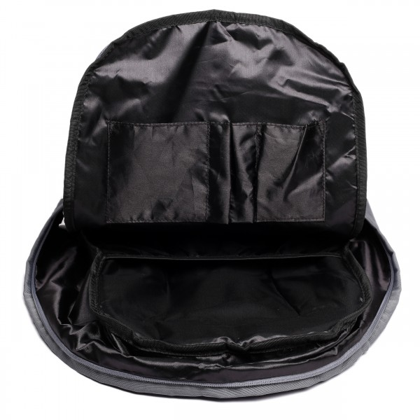 E1501 - Miss Lulu Unisex Backpack Black