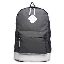 E1501 - Miss Lulu Unisex Backpack Grey