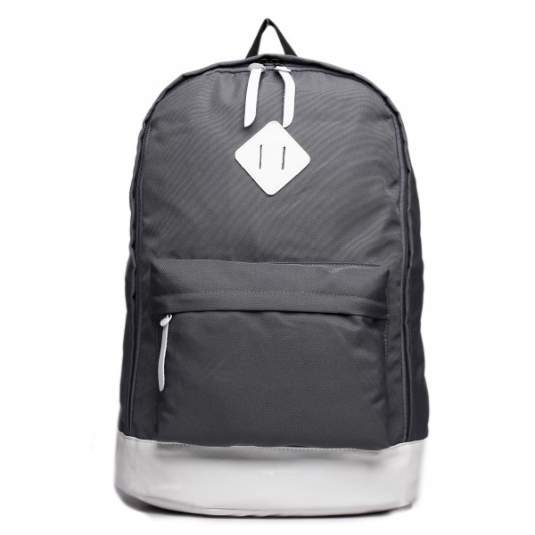 E1501 - Miss Lulu Unisex Backpack Grey