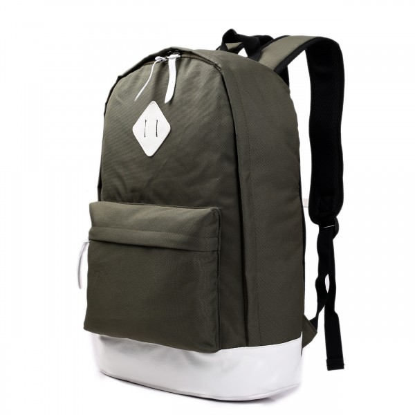E1501 - Miss Lulu Unisex Backpack Khaki