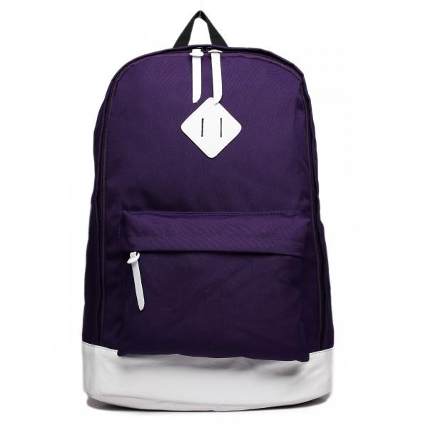 E1501 - Miss Lulu Unisex Backpack Purple