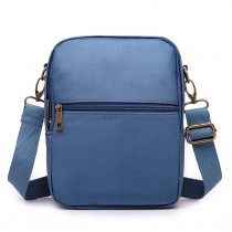 E1660-Miss LuLu Polyester Satchel Shoulder Messenger Bags Small Bags Blue