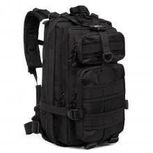 E1729 - Kono Sac à dos fonctionnel à compartiments multiples noir