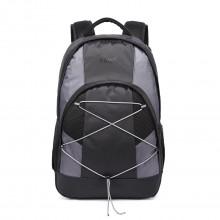E1730 - Kono Casual Day School Backpack Black