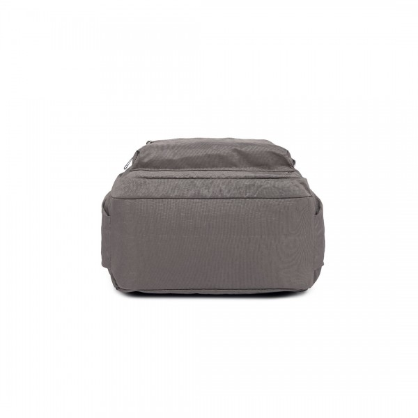 E1733 - Multi Compartment Functional Water Resistant Backpack Grey