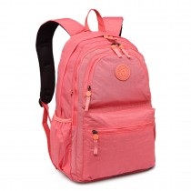 E1733 - Multi Compartment Functional Water Resistant Backpack Coral