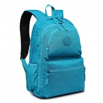 E1733 - Multi Compartment Functional Water Resistant Backpack Turquoise