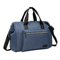 E1802 - Kono Maternity Baby Changing Bag Shoulder Travel Bag Blue