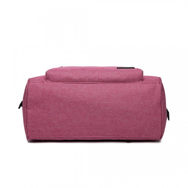 E1802 - Kono Maternity Baby Changing Bag Shoulder Travel Bag Pink