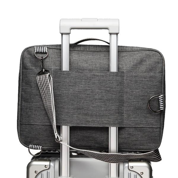 E1911 - Kono Multi-Functional Cross Body Backpack Hand Luggage - Grey