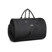 E1918-KONO TRAVEL TRAIT BOLSO DUFFEL NEGRO