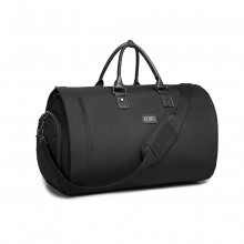 E1918 - Kono Travel Suit Garment Duffel Bag - Black