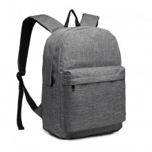 E1930-KONO LARGE FUNCTIONAL BASIC BACKPACK GREY