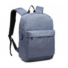 E1930-MISS LULU LARGE SCHOOL BACKPACK BLUE