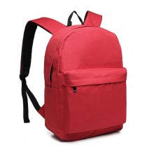 E1930 - KONO LARGE FUNCTIONAL BASIC BACKPACK - RED