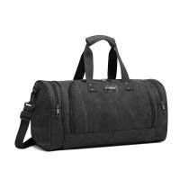 E1957 - Bolsa de viaje Kono Canvas Barrel Duffle - Negro