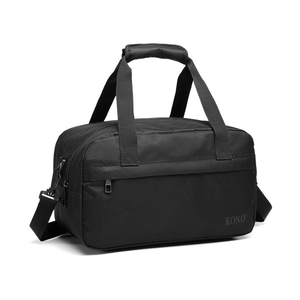 E1960 - Kono Multi Purpose Men's Shoulder Bag - Black