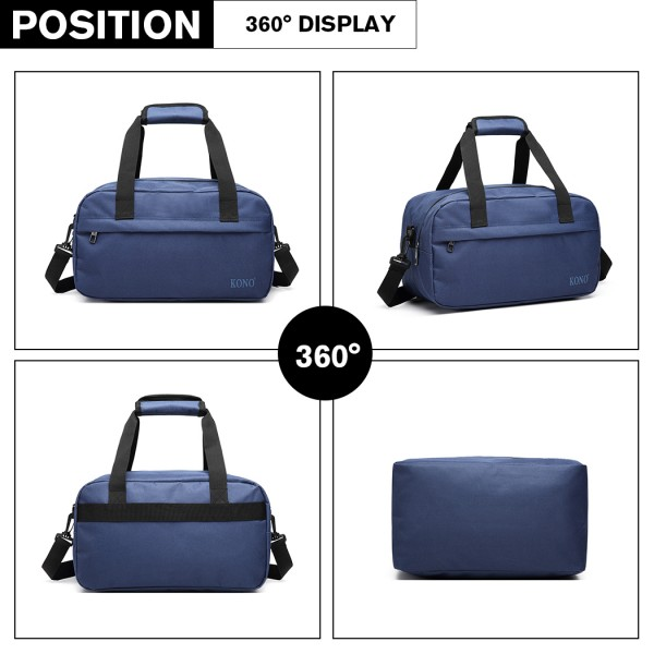 E1960 - Kono Multi Purpose Men's Shoulder Bag - Navy