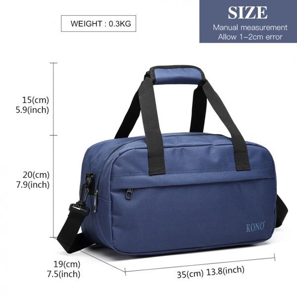 E1960 - Kono Multi Purpose Men's Shoulder Bag - Navy