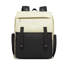 E1970 - Kono Multi Porcelant Baby Changing Backpack z USB Connectivity - Black