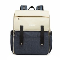 E1970 - Kono Multi Porcelant Baby Changing Backpack z USB Connectivity - Navy