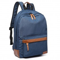 E6602-MISS LULU Waterproof Backpack school bag /outdoor Travel Rucksack navy