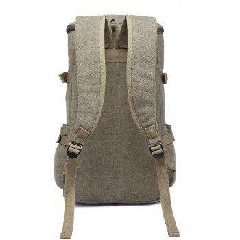 E6643 - Kono Multifunctional 45L Outdoor / Hikking / Casual Canvas Backpack green
