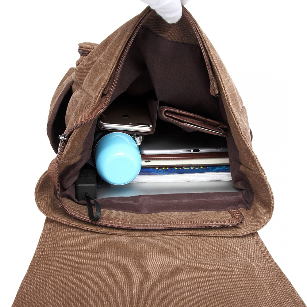 c81f1ec36b22 Vintage Canvas Backpack Rucksack- Fenix Toulouse Handball