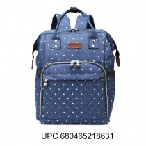 E6705D2 NY - Miss Lulu 4pcs Maternity Baby Changing Bag Mochila de pañales Clean Mochila Navy
