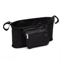 E6708 BK - Stylish Canvas Bag For Baby Carriage Black