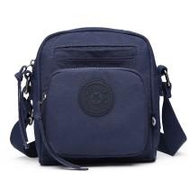 E6823-KONO Lightweight Casual Travel Bag Multi Pocket Cross Body  BLUE
