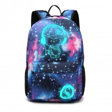 E6880 - Kono Galaxy Glow In The Dark Backpack - Blue